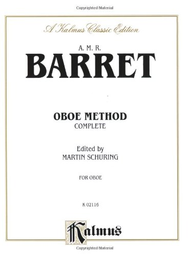 Oboe Method (Complete) (Kalmus Edition)