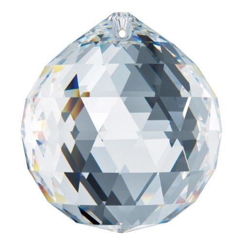 Strass Swarovski Lead Crystal - 50mm Swarovski Clear Crystal Ball Prisms 8558-50
