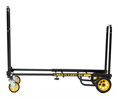 "Rock-N-Roller R2RT (Micro) 8-in-1 Folding Multicart / Hand Truck / Dolly / Platform Cart / 26"" to 39"" Telescoping Frame Load Capacity 350 lbs."