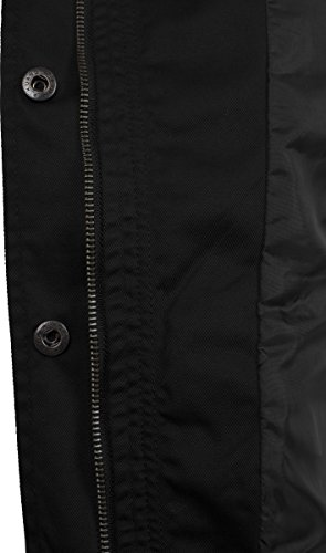 black Classics Urban Nero Cotton Basic 7 Parka Donna Ladies xngPpAx