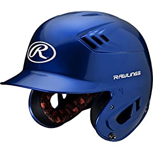 Rawlings R16 Series Metallic Batting Helmet, Royal, Senior