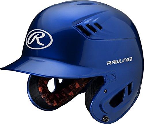 Royal Blue Baseball Batting Helmet - Rawlings R16 Series Metallic Batting Helmet, Royal, Senior
