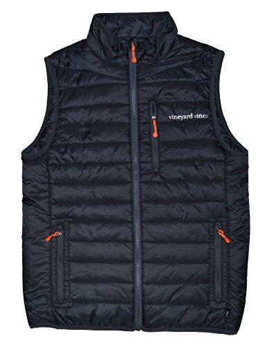 Vineyard Vines Mens Mountain Weekend Vest (Small, Seal Blue) ()