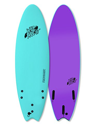 Wave Bandit Performer Tri, Turquoise, 6'6'' by Wave Bandit
