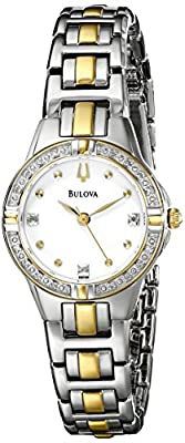 Bulova Women's 98R166 Diamond Case Watch