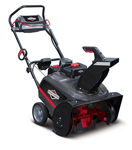 Briggs & Stratton 1696741 Single Stage Snow Thrower with Snow Shredder Auger and 250cc Engine with Electric Start, 22-Inch