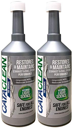 Cataclean (120007-2PK) Fuel and Exhaust System Cleaner - 16 fl. oz., (Pack of 2) (Catalytic Conversations)