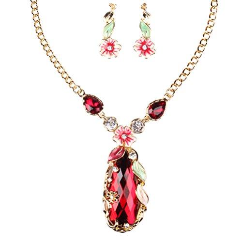 SunIfSnow Women Fashion Y-Shape Diamond Twisted Snake Chain Necklace (Fancy Shape Diamond Necklace)