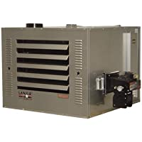 - Lanair Waste Oil-Fired Thermostat-Controlled Heater Package - 250,000 BTU, 8500 Sq. Ft. Capacity, Thru-Roof Chimney, Model# MX-250 Package C