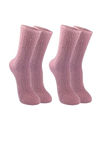 Pink 100% Wool - 2
