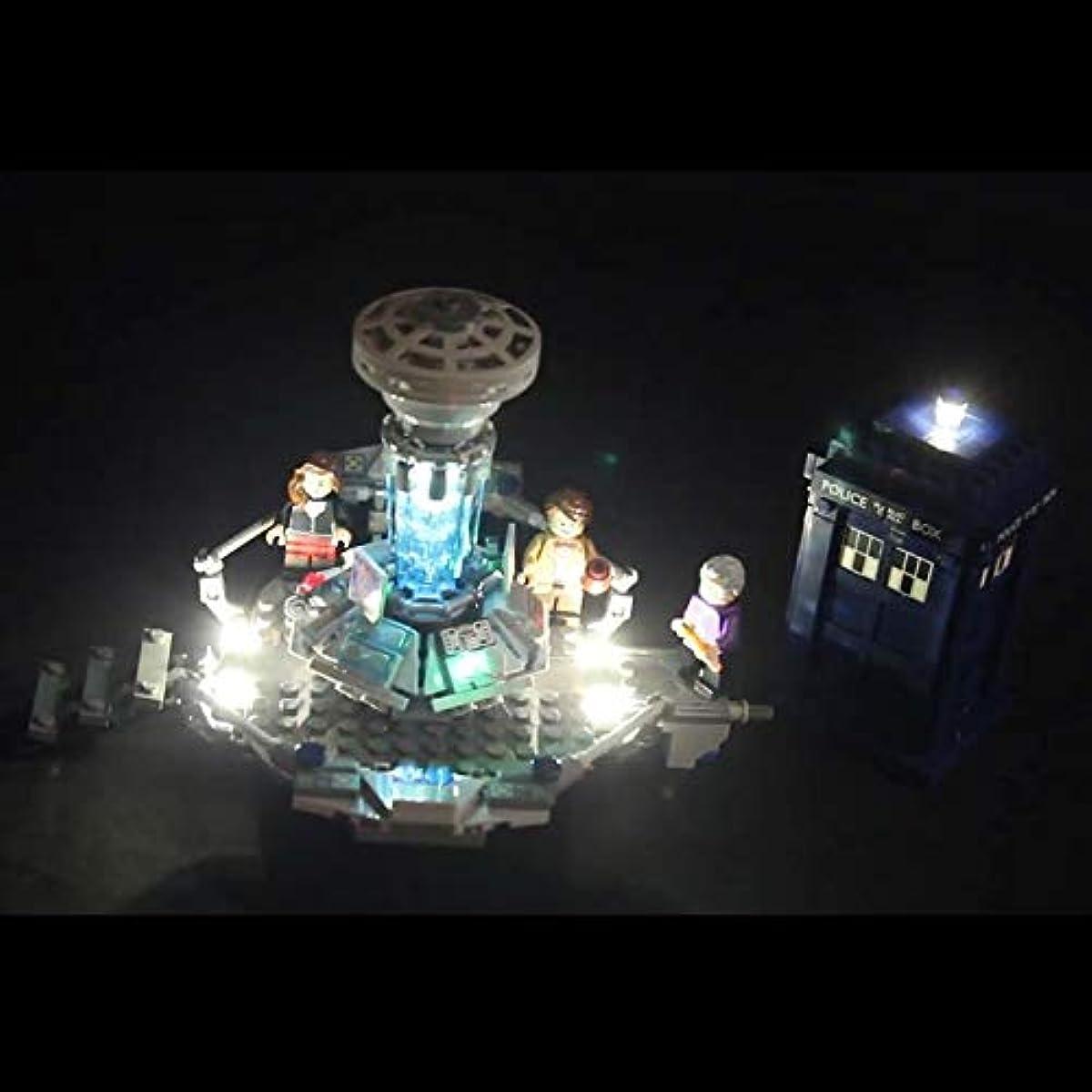 [해외] LEGO 레고 아이디어 21304 호환 닥터who LED 라이트 키트