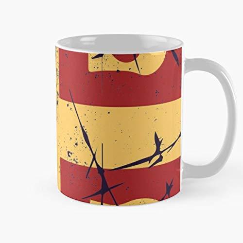 Amazon.com: Tazas de café de cerámica con el símbolo de la ...