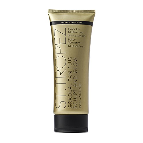 St. Tropez Gradual Tan Plus Sculpt & Glow for Unisex, 6.7 Oz