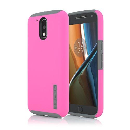 Incipio DualPro for Moto g4/ g4 Plus - Pink/Gray