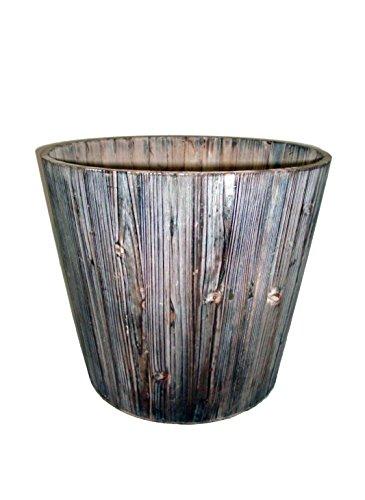 Mamone Home & Garden Wood Round Planter, - Wood Round Planter Shopping Results