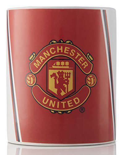 Manchester United Ceramic Coffee and Tea Mug - Great Present for Manchester United Fans - Official Licensed Product