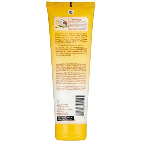 SoftSheen-Carson Dark and Lovely Au Naturale Moisture L.O.C. Lock It In Sealing Cream, 8.5 oz chic