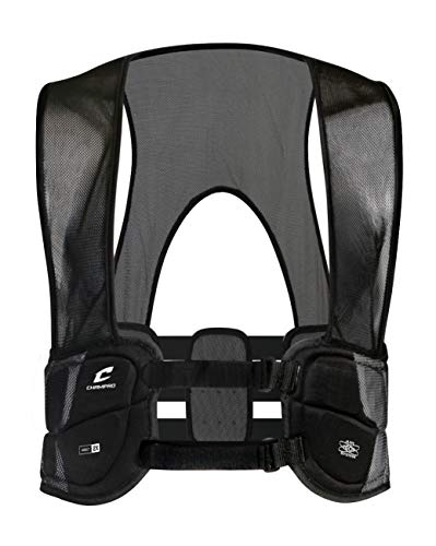 Champro Air Tech 3 Rib Vest (Black, Youth/Large)
