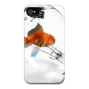 High-end Cases Covers Protector For Iphone 6(golden Fish)