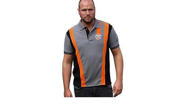Grandprix Originals Grey`n Orange Racing Polo S: Amazon.es: Ropa y ...