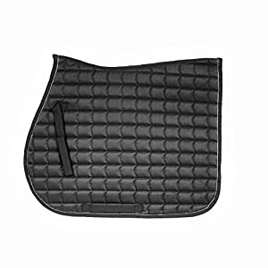 Horze Quick Dry Anti Slip Lining All Purpose Saddle Pad Black Horse Exclusively for OSO1O