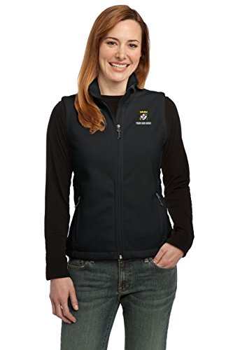 Queensboro Shirt Company Custom Embroidered Port Authority Ladies Value Fleece Vest - Pack Of 3 by Queensboro Shirt Company