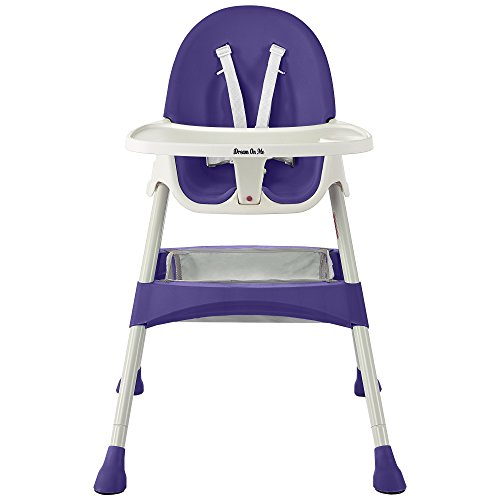 Dream On Me Jackson High chair In Plum Purple by Dream On Me