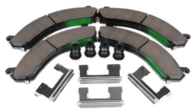 and Seals Clips ACDelco 171-690 GM Original Equipment Rear Disc Brake Pad Kit with Brake Pads