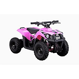XtremepowerUS Electric Monster ATV 36V 500W w/ 3 Adjustable Speed, Pink