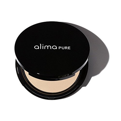 Mica Matte Foundation - Alima Pure Pressed Foundation with Rosehip Antioxidant Complex - Sesame