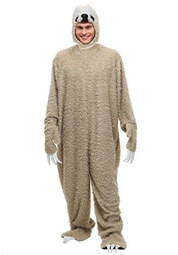 Sloth Halloween Costumes (Adult Sloth Costume Standard)