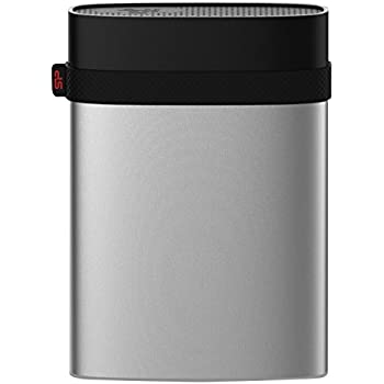Silicon Power 5TB Armor A85M for Mac Military-grade Shockproof/IP68 Waterproof & Dustproof USB 3.0 2.5-inch External Hard Drive- HFS+ and Time Machine Supported, Silver ( SP050TBPHD85MS3S)