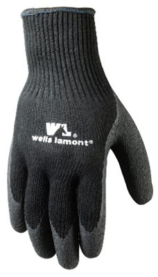 Wells Lamont Latex Coated Winter Work Gloves, Thick Acrylic Shell
