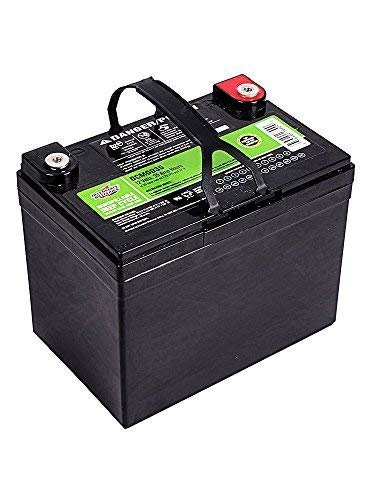 The best budget RV deep cycle battery is the Interstate DCM0035 35 AH battery