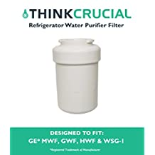 GE Refrigerator Water Purifier Filter Fits GE MWF GWF HWF 46-9991 WSG-1 WF287 & EFF-6013A