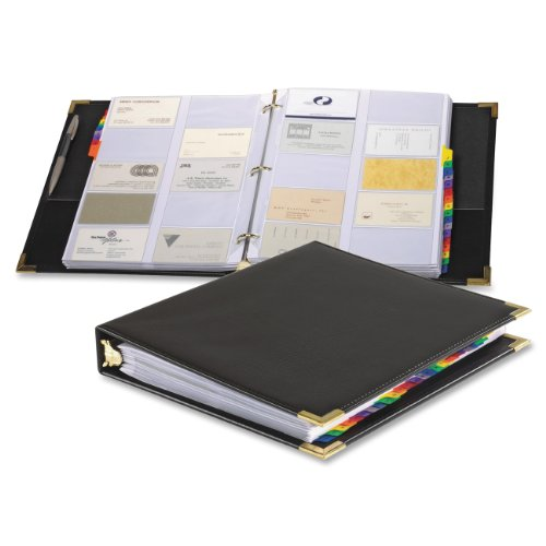Business Card Holder Binder - Cardinal Business Card Books (65361 C20)
