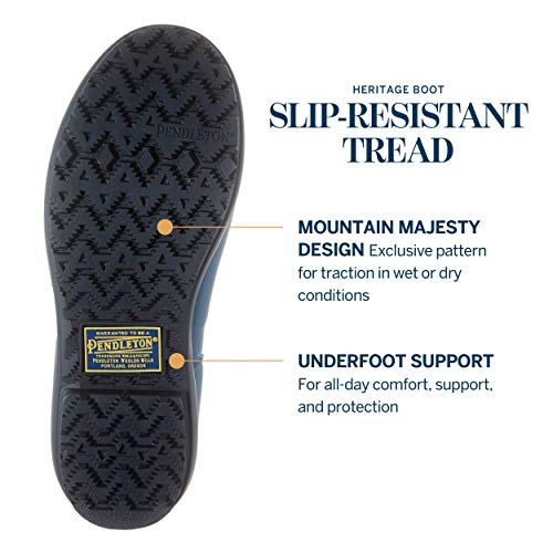 Pendleton Women's Classic Tall Slip-Resistant Rain Boot