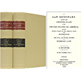 Bouvier Law Dictionary 1856 edition