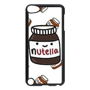 Nutella C7D5Gy iPod Touch 5 Caso Funda Negro A4B6OK duros fundas caja del teléfono