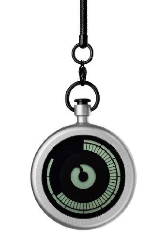 ZIIIRO Z0009PWS Titan Chrome Pocket Watch