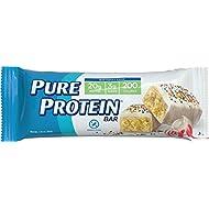Pure Protein Bars, Gluten Free, Birthday Cake, 1.76 oz, 6 Count