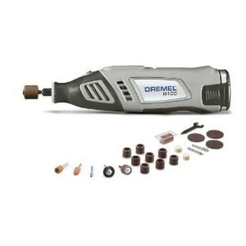 New Dremel 8100-n/21 8 Volt Max Lithium Cordless Rotary Tool Kit & Storage Case by Dremel