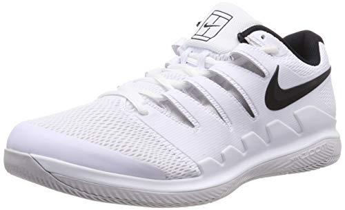 - Nike Men's Zoom Vapor X Tennis Shoes (10.5 D US, White/Black/Vast Grey/Summit White)