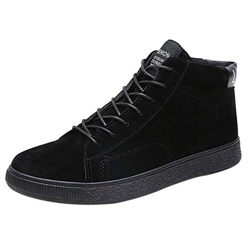 Price comparison product image Gift Ideas! Teresamoon Men's Casual Shoes Boots Warm Ankle Boots Winter Snow Boots Leather Boots