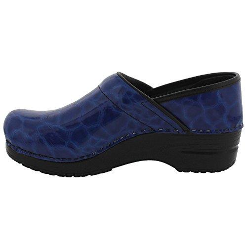 Sanita Vrouwen Originele Professionele Cleo Limited Edition Klompen Blauw