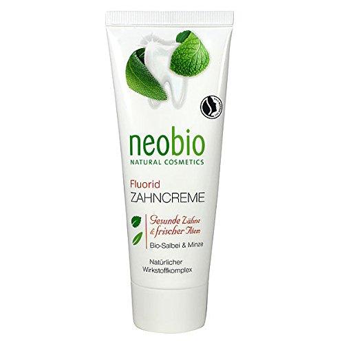 Dentrífico ecológico con flúor Neo Bio