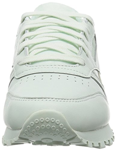 Donna weiß top Spirit X Face Leather Stockholm mint Bianco Low Classic Reebok Scarpe 1C8Pxw