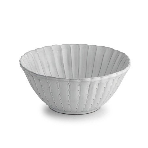Arte Italica Bella Bianca Salad Bowl, Small, White