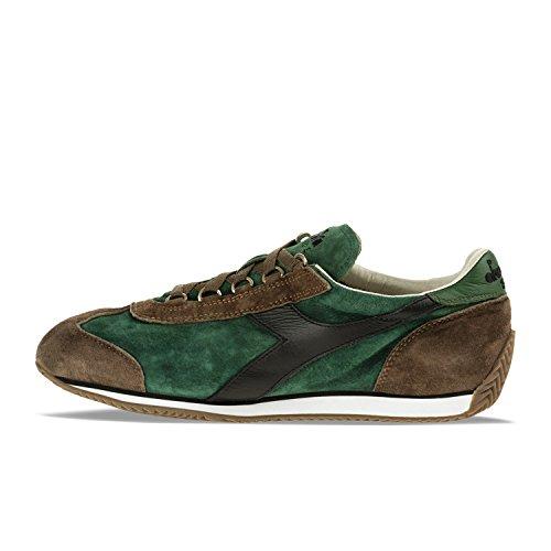 Uomo Equipe Sneakers C5955 Diadora Verde Fogliame Donna Heritage S per e SW Cioccolat marr YFTYA4xwqC