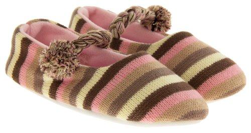 Footwear Studio, Pantofole donna Rosa rosa
